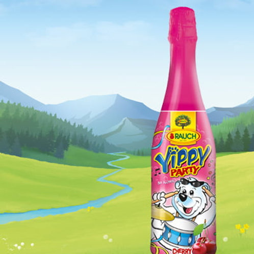 Rauch Yippy Party Cherry Juice - 750ml