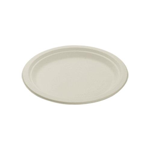 Falcon Biodegradable Round Plate - 9 Inch