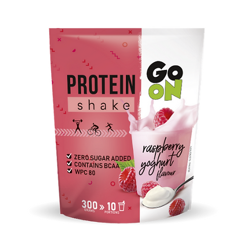 Sante Go On Protein Shake Raspberry Yoghurt Flavour - 300g