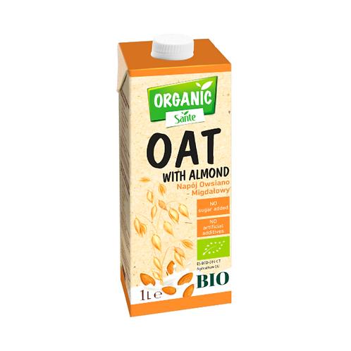 Sante Organic Oat Almond Drink without Added Sugar Bio - 1L