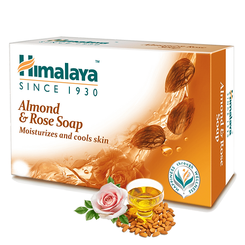Himalaya Almond & Rose Soap - 75g