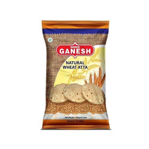 Ganesh Wheat Atta Flour - 5kg