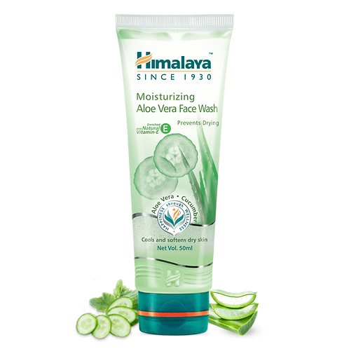 Himalaya Moisturizing Aloe Vera Face Wash - 50ml