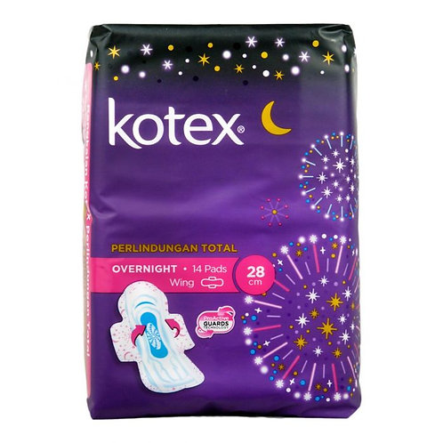 Kotex Healthy Protection Overnight Wing Pads - 28cm