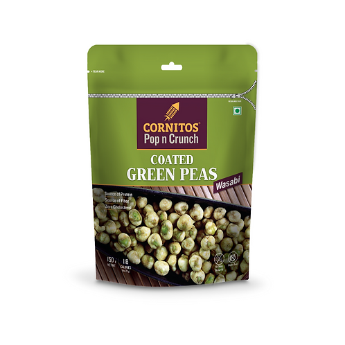 Cornitos Coated Green Peas (Wasabi) - 150g