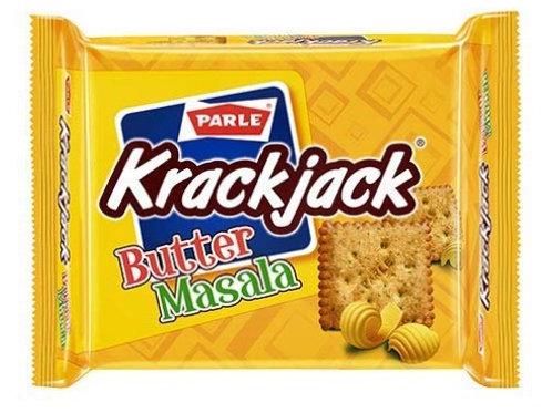 Parle Krackjack Butter Masala Biscuits - 124.2g