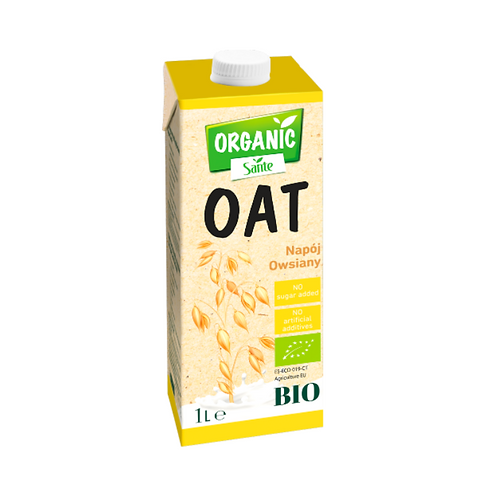 Sante Organic Oat Drink without Added Sugar Bio - 1L