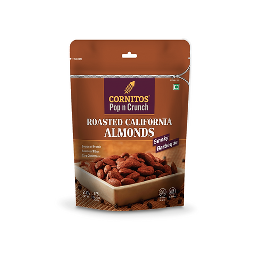 Cornitos Roasted Almond (Smocky Barbeque) - 200g