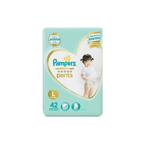 Pampers Premium Soft Pants Large - 42 Pieces