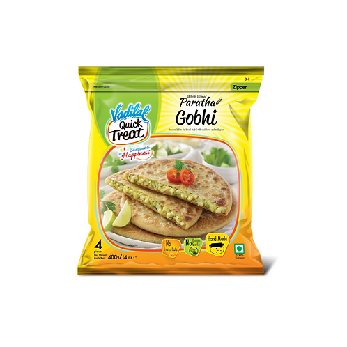 Vadilal Gobhi Paratha - 400g