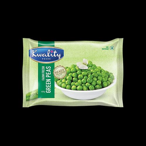 Kwality Frozen Green Peas - 400g
