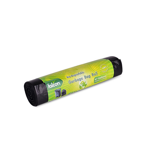 Falcon Biodegradable HD Garbage Bag Roll - 105 x 125cm