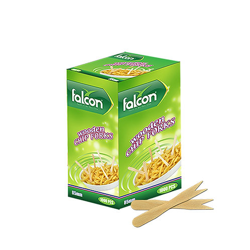 Falcon Wooden Chip Forks - 85mm