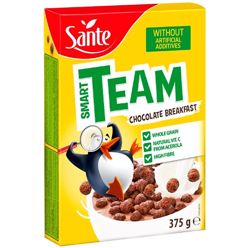 Sante Smart Team Chocolate Breakfast - 375g