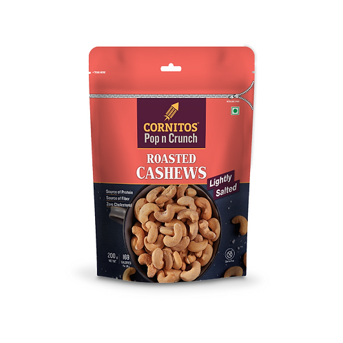 Cornitos Roasted Cashew (Salted) - 200g