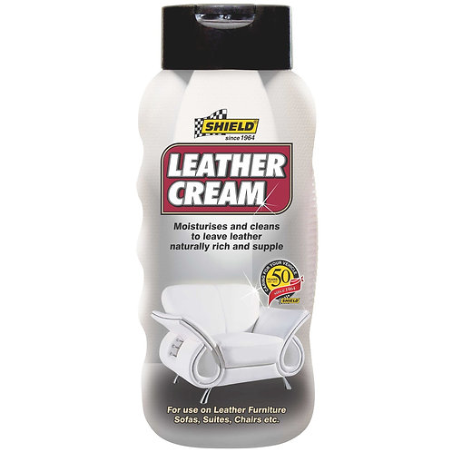 Shield Upholstery Cleaners & Wipes Leather Cream