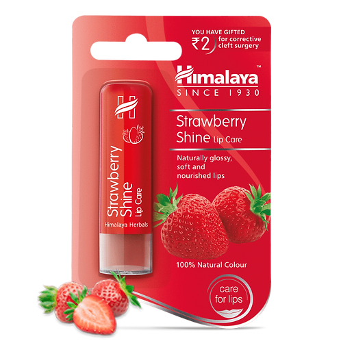 Himalaya Strawberry Shine Lip Care - 4.5g