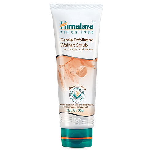 Himalaya Gentle Exfoliating Walnut Face Scrub - 50g