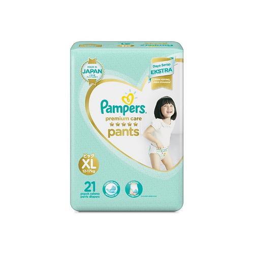 Pampers Premium Soft Pants X-Large - 21 Pieces