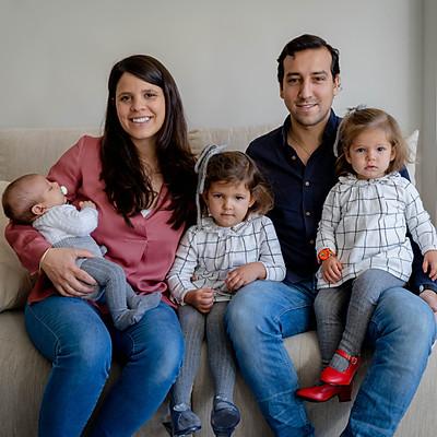 La familia de Cova y Nacho