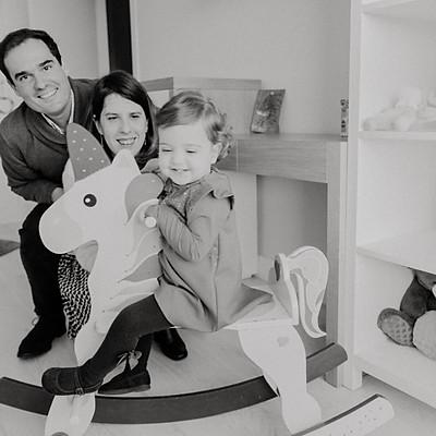 La familia de Laure y Borja