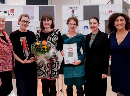 bettertogether ist Wiens frauen- und familienfreundlichster Mittelbetrieb 2019