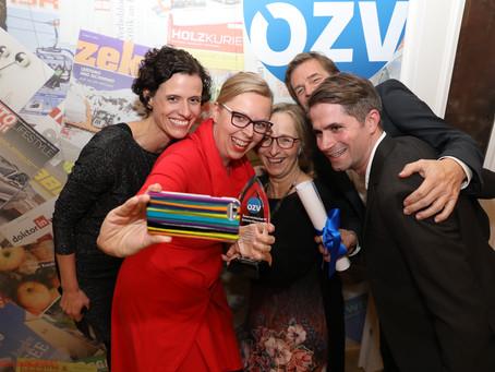 """""""Österreichischer Zeitschriftenpreis"""" für SALTO, das Magazin von SOS-Kinderdorf"""