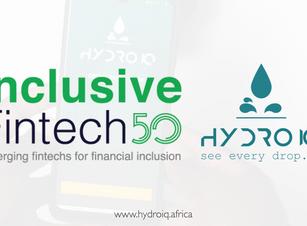 HydroIQ Among The 2020 Inclusive Fintech 50