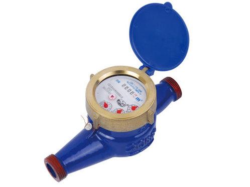 Brass Multijet Manual Meter
