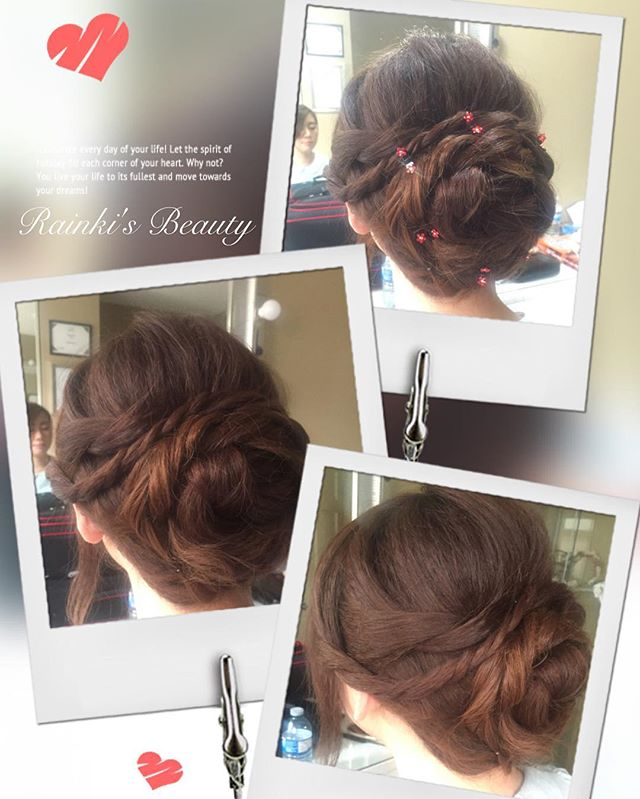 #yyc #yyclife #hair #hairstyle #hairupdo #hairstyles #hair #rainkisbeauty #rainkismakeup #rainki #up