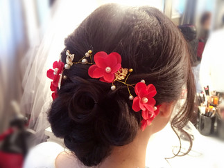 Asian Wedding Hair & Makeup Trials 2017