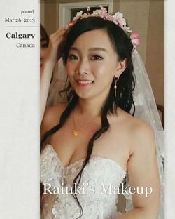 Asian wedding Makeup by _rainki