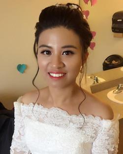 Asian wedding Makeup&Hair by _rainki