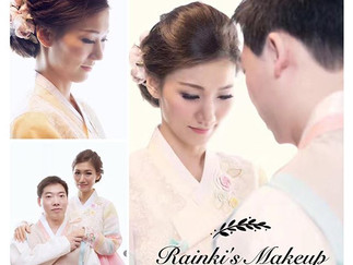 Asian Weddings Makeup (Korean Wedding)