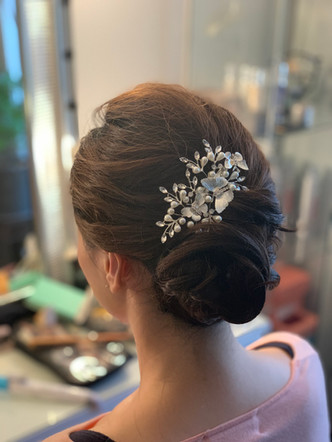 Updo hairstyle for Wedding Day