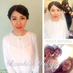 Makeup:Rainki.chen Asian wedding Makeupby _rainki