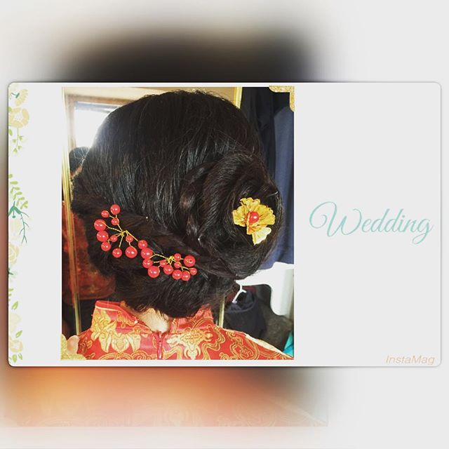 Asian wedding Makeup&Hair by _rainki