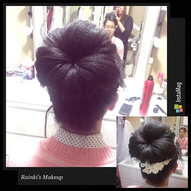 Hairstyle:Rainki.chen Asian wedding Hairstyle by _rainki