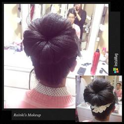 Hairstyle:Rainki.chen Asian wedding Hairstyle by _rainki