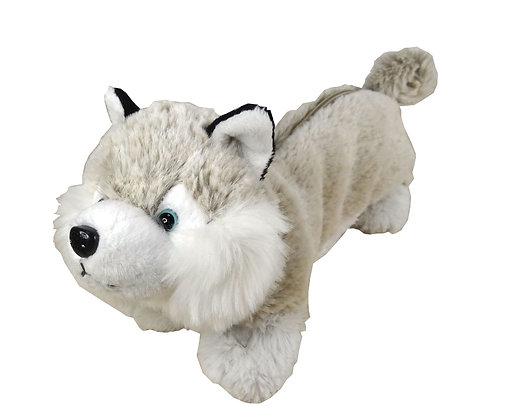 Trousse peluche husky