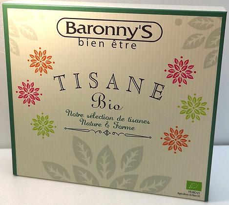 Coffret de tisanes nature et forme Baronny's Bio