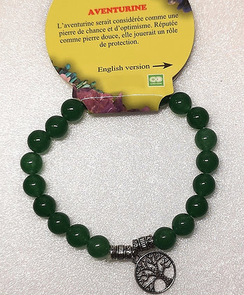 Bracelet Aventurine Arbre de Vie