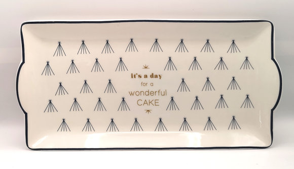 Plat à cake