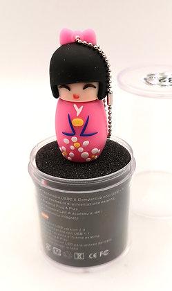 Clé USB Geisha rose 32Go