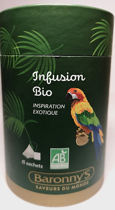 Infusion bio Inspiration exotique - Baronny's