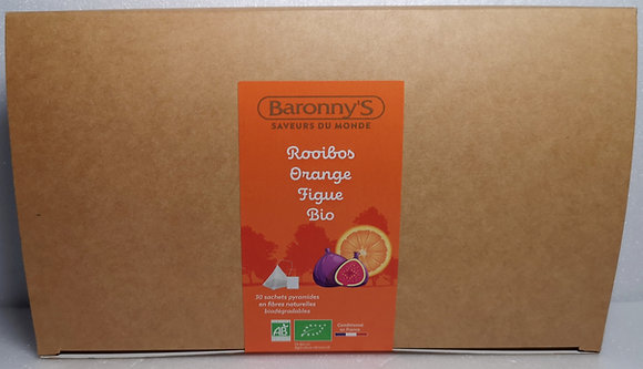 Recharge Rooibos orange figue bio - Baronny's