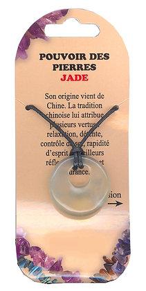 Collier Pouvoir des pierres - Jade