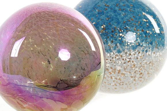 Boule déco iridescent 12X12X12