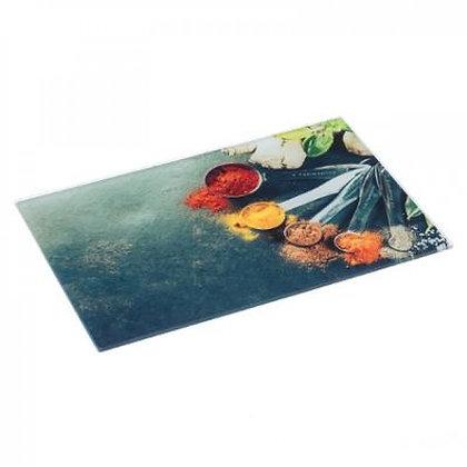 Planche à découper en verre 40x30 cm