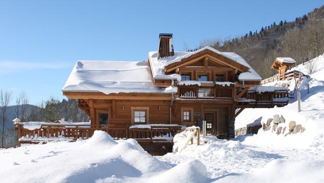 La Nolière en hiver - La Bresse